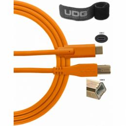 Câbles mini USB A vers B - UDG - U96001OR (1,5 mètres)