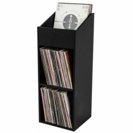 Meubles et pochettes de disques - Glorious DJ - RECORD BOX 330 BLACK