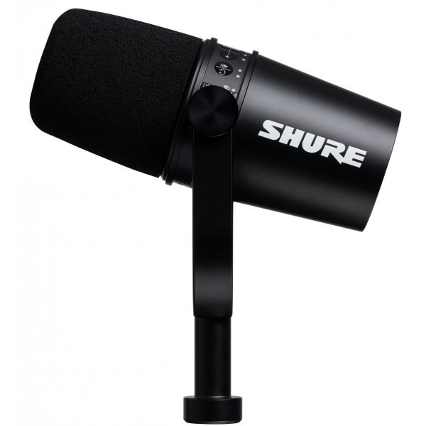 Micros Podcast et radio - Shure - MV7-K
