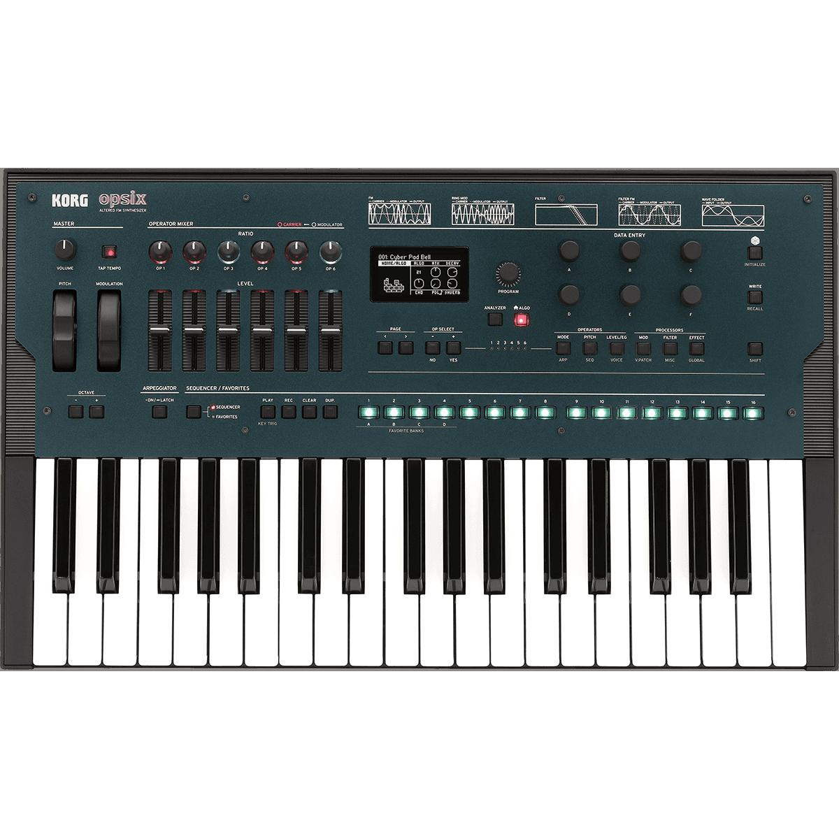 Synthé numériques - Korg - OPSIX