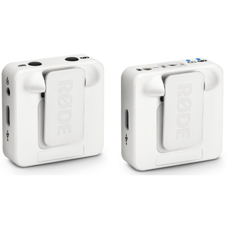 Micros pour caméras sans fil - Rode - WIRELESS GO (BLANC)