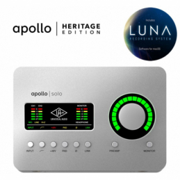 Cartes son - Universal Audio - APOLLO SOLO HERITAGE EDITION
