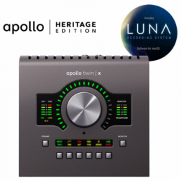 Cartes son - Universal Audio - Apollo Twin X QUAD HERITAGE...