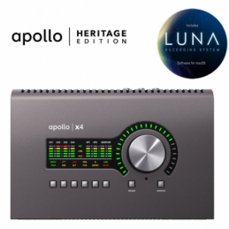 Cartes son - Universal Audio - APOLLO x4 HERITAGE EDITION