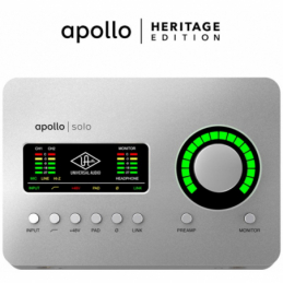 Cartes son - Universal Audio - APOLLO SOLO USB HERITAGE...