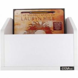 Meubles et pochettes de disques - Enova Hifi - VINYLE BAC 120WH BLANC