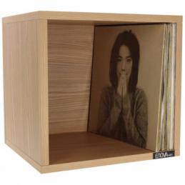 Meubles et pochettes de disques - Enova Hifi - VINYLE BOX 120SWE BOIS