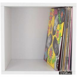 Meubles et pochettes de disques - Enova Hifi - VINYLE BOX 120WH BLANC
