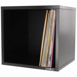 Meubles et pochettes de disques - Enova Hifi - VINYLE BOX 120BL NOIR