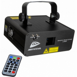 Lasers multicolore - JB Systems - SMOOTH SCAN-3 Mk2 LASER