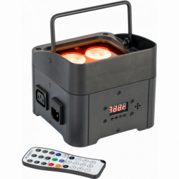 Projecteurs PAR LED - Ibiza Light - TBOX-QUAD4