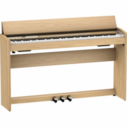 Pianos numériques meubles - Roland - F701 (CHENE CLAIR)