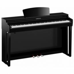 Pianos numériques meubles - Yamaha - CLP-725 (NOIR LAQUÉ)