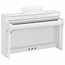 Pianos numériques meubles - Yamaha - CLP-735 (NOYER BLANC)