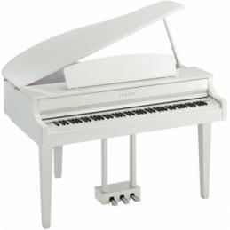 Pianos numériques meubles - Yamaha - CLP-765GP (BLANC LAQUÉ)
