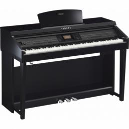 Pianos numériques meubles - Yamaha - CVP-701 (NOIR LAQUÉ)