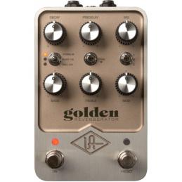 Pédales d'effets - Universal Audio - GOLDEN REVERBERATOR