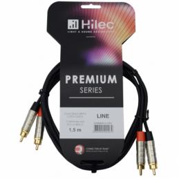 Câbles RCA / RCA - Hilec - CLPRO2RCA/1.5