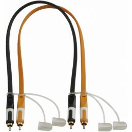 Câbles RCA / RCA - Hilec - CFLAT-RCA/0.5