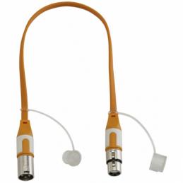 Câbles XLR / XLR - Hilec - CFLAT-XMXF/0.5