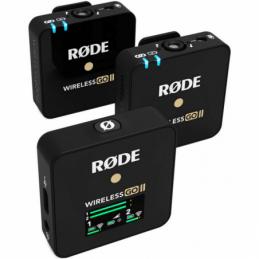 Micros pour caméras sans fil - Rode - WIRELESS GO 2