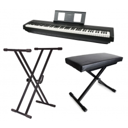 Packs Claviers et Synthé - Yamaha - Pack piano P-45 + Stand +...