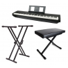Pack piano P-45 + Stand + Banquette