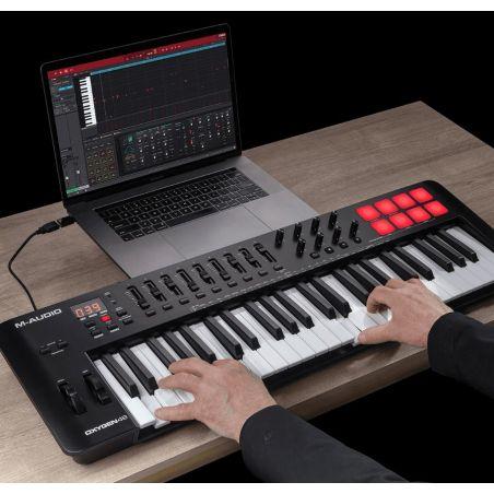 Claviers maitres 49 touches - M-Audio - Oxygen 49 MKV
