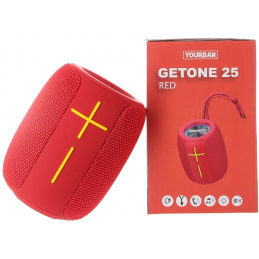 Enceintes portables - Yourban - GETONE 25 RED