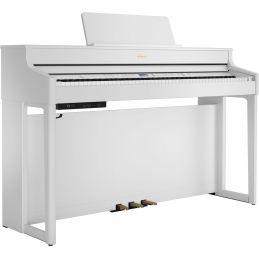 Pianos numériques meubles - Roland - HP702 (Blanc)