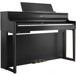 Pianos numériques meubles - Roland - HP704 (Noir Charcoal)