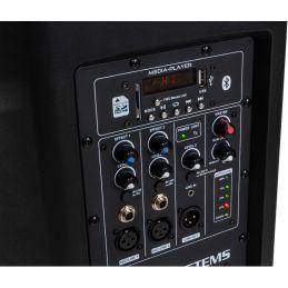 Systèmes amplifiés sur batteries - JB Systems - PPC-082B