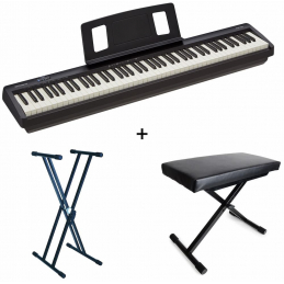 Packs Claviers et Synthé - Roland - Pack Piano FP-10 + Stand +...