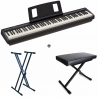 Pack Piano FP-10 + Stand + Banquette