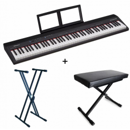 Packs Claviers et Synthé - Roland - Pack Piano GO:PIANO 88 +...