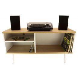 Meubles et pochettes de disques - Enova Hifi - Meuble Vinyles Aura