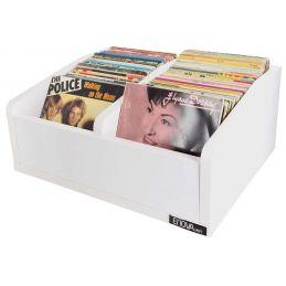 Meubles et pochettes de disques - Enova Hifi - Vinyle Bac 45T WH