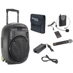 Sonos portables sur batteries - Ibiza Sound - PORT15VHF-MKII