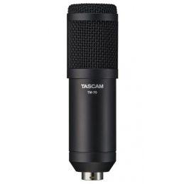 Micros Podcast et radio - Tascam - TM-70