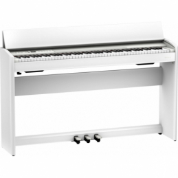 Pianos numériques meubles - Roland - Pack piano F701 (BLANC) +...