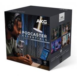Packs Home Studio - AKG - Podcaster Essentials Bundle